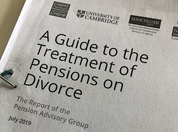 Can mediation deal with pensions on divorce?